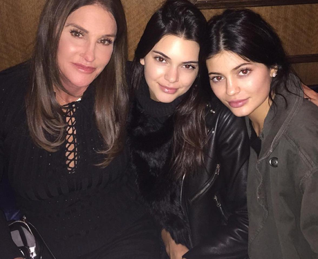Kendall and Kylie with Caitlin Jenner