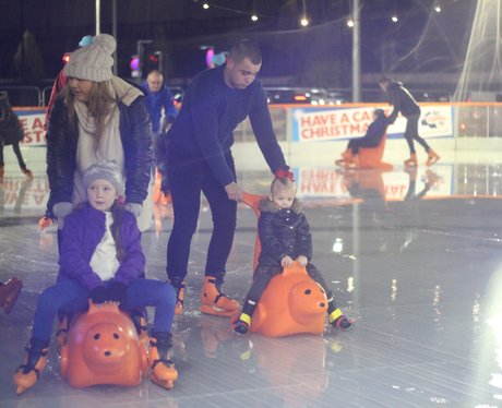 Manchester Ice Rink Launch 2015
