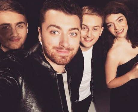 Sam Smith Disclosure Lorde Instagram