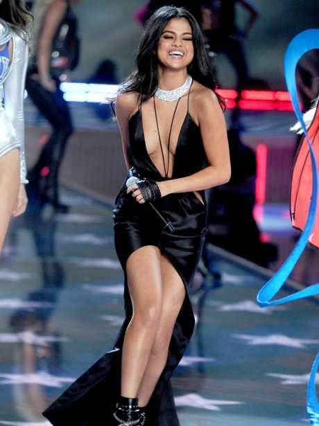 Selena Gomez Victoria's Secret Fashion Show 2015
