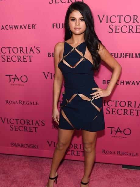 Selena Gomez Victoria's Secret Fashion Show 2015