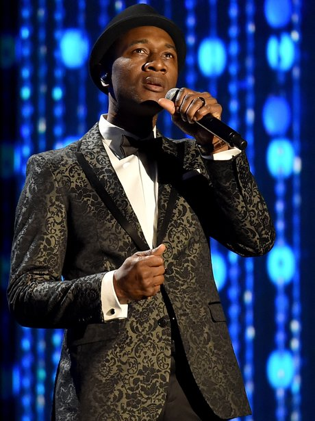 Aloe Blacc performs onstage during the Academy of