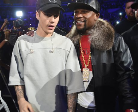An Evening With Justin Bieber and Floyd Mayweather
