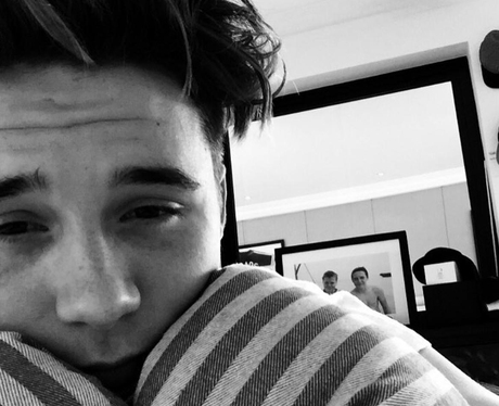 Brooklyn Beckham instagram picture
