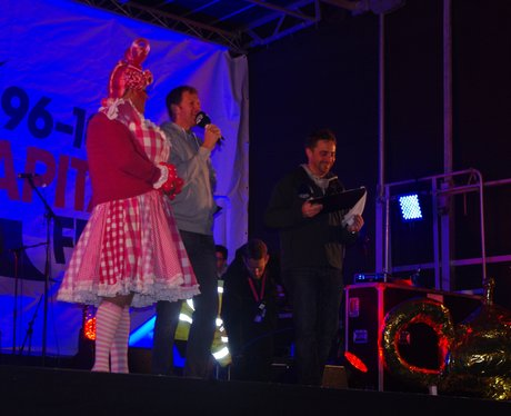 Derby Christmas Light Switch On 2015