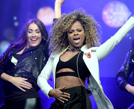 Fleur East live on stage