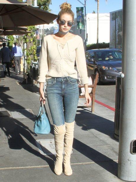 Gigi Hadid Boots
