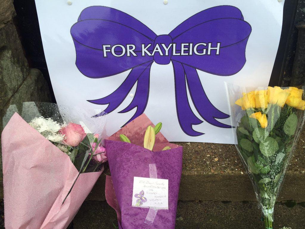 Kayleigh Haywood vigil