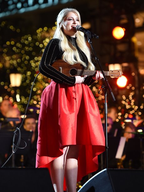 Meghan Trainor performs onstage during The Grove C