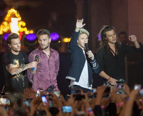 One Direction Jimmy Kimmel live 2015