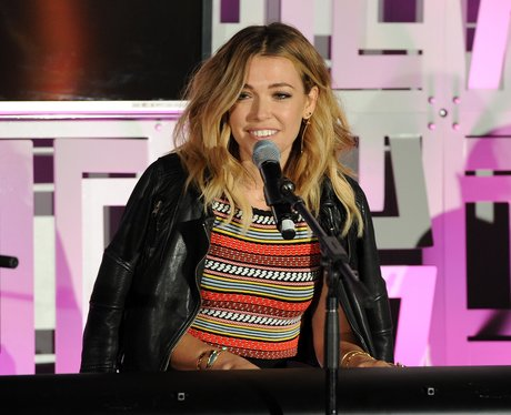 Rachel Platten performs on stage during Cosmopolit