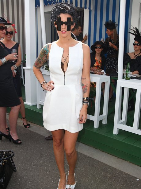 Ruby Rose attends Victoria Derby Day a