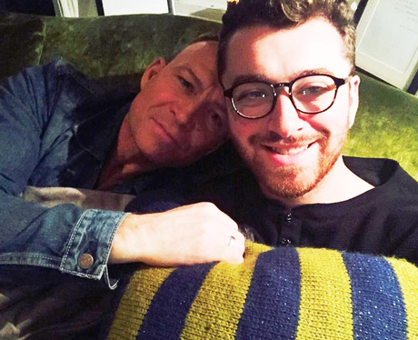 Sam Smith and Dad