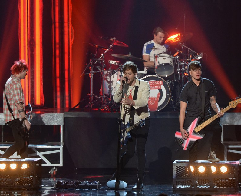 5 Seconds Of Summer American Music Awards 2015