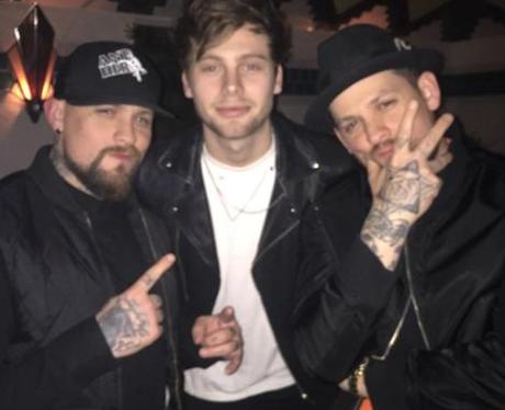 5SOS Luke Hemmings Good Charlotte Instagram