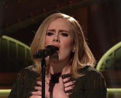 Adele Saturday Night Live 2