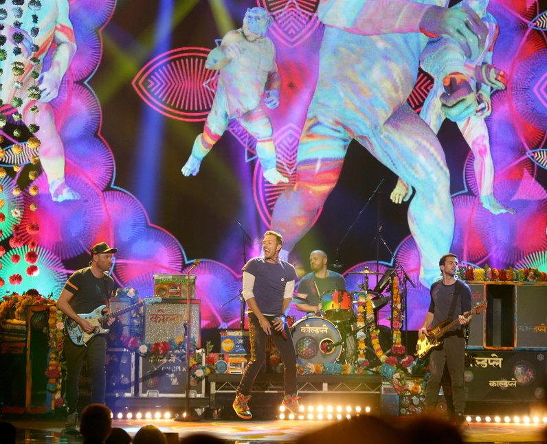 Coldplay American Music Awards 2015 Performance