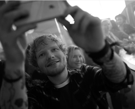 Ed Sheeran Filming Bridget Jones