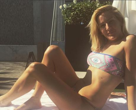 Ellie Goulding in a bikini