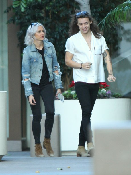 Harry Styles and Lou Teasdale