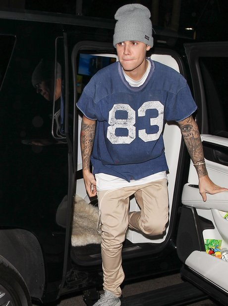 Justin Bieber AMA's After Party
