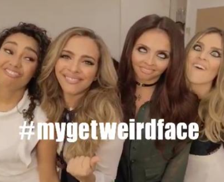 Little Mix Get Weird Face