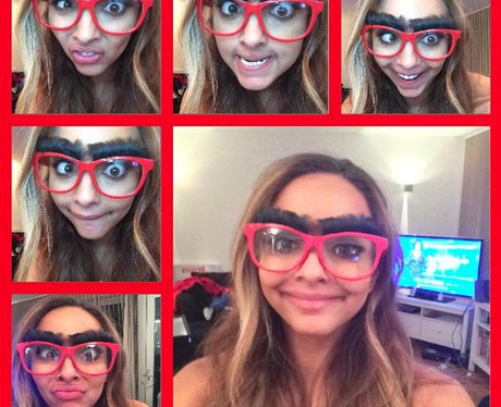 Jade Glasses Comic Relief