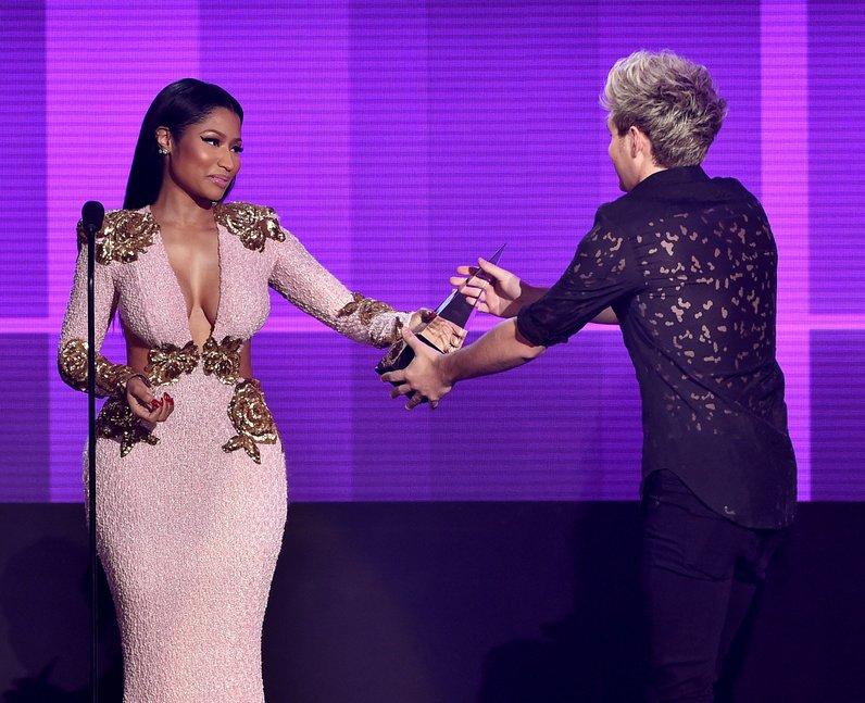 Nicki Minaj and Niall Horan American Music Awards