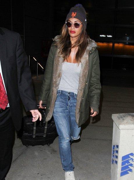 Nicole Scherzinger Airport