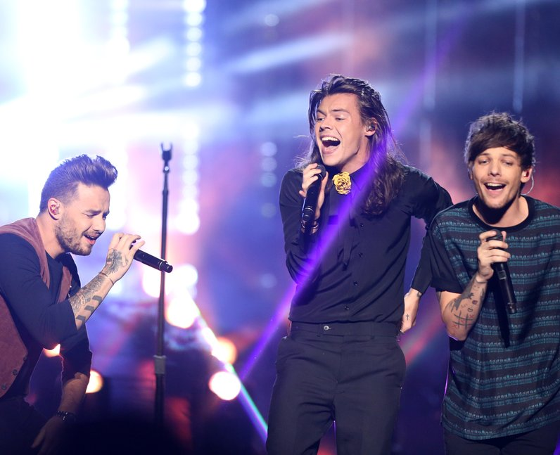 One Direction American Music Awards 2015
