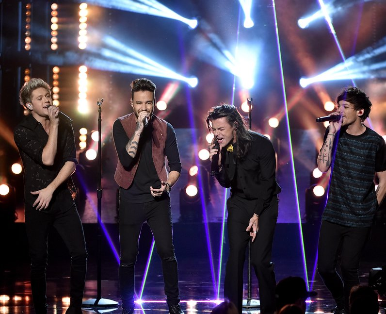 One Direction American Music Awards 2015 Performan