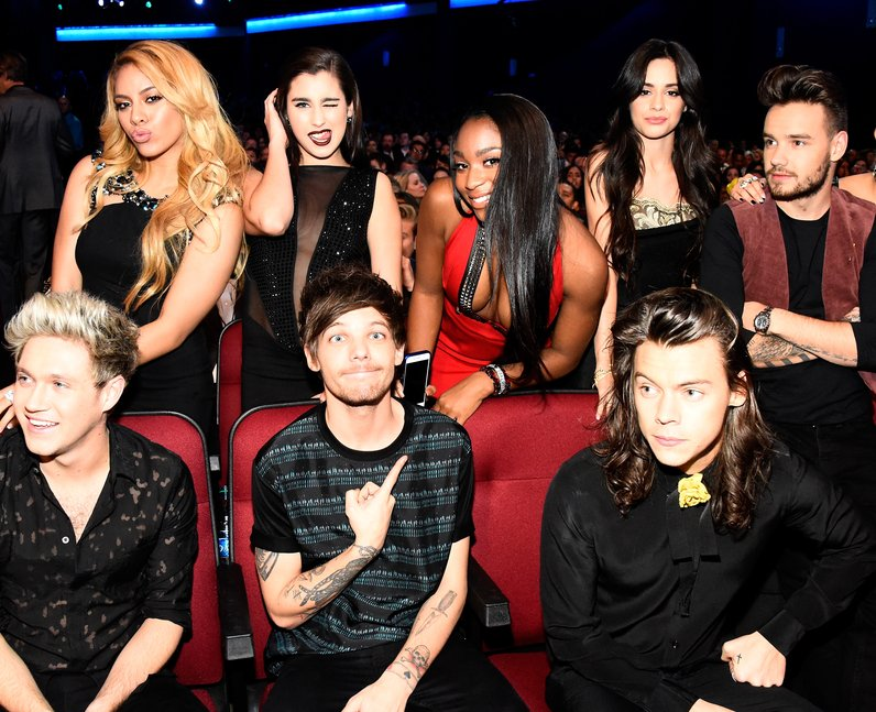 Fifth harmony and one direction dating selena