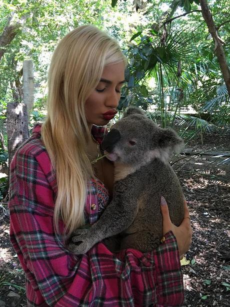 Pia Mia and Koala