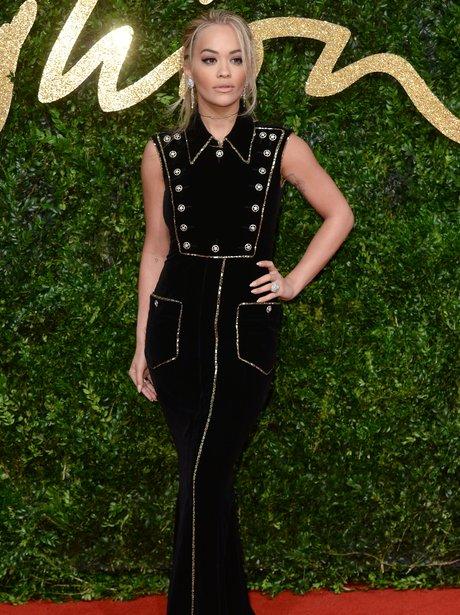 Rita Ora Biritsh Fashion Awards 2015