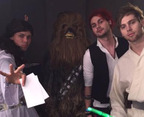 5 Seconds Of Summer As Star Wars