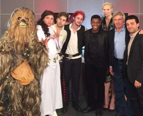 5 Seconds Of Summer Star Wars Cast