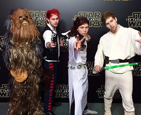 5 Seconds Of Summer Star Wars Event