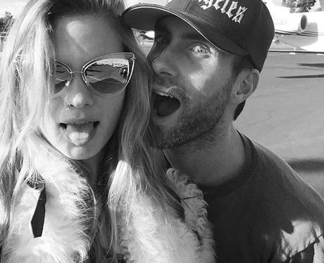 Adam Levine Behati Prinsloo Instagram