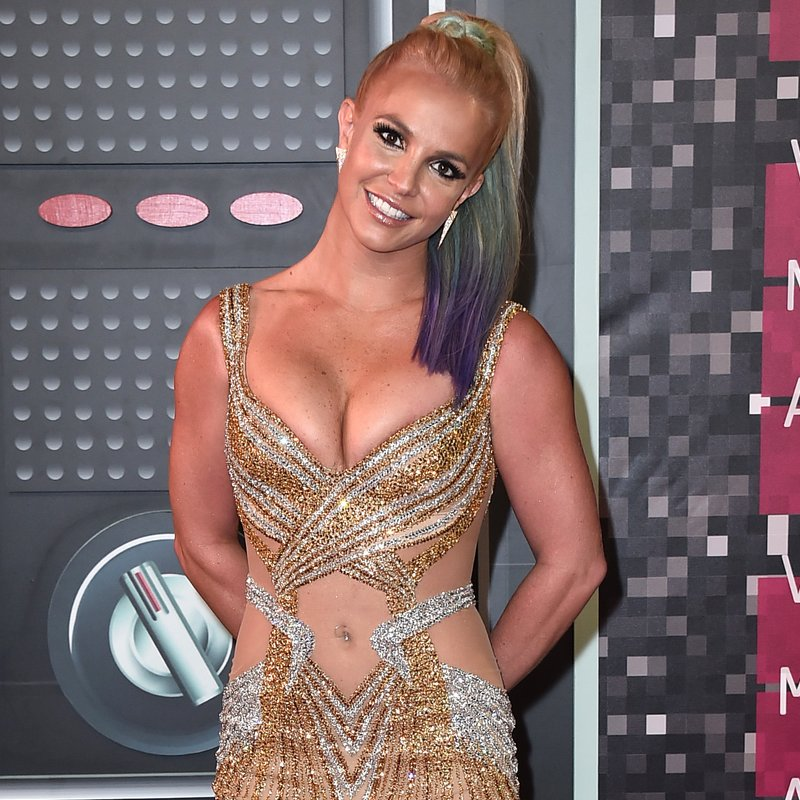 Britney Spears at the MTV VMAs 2015