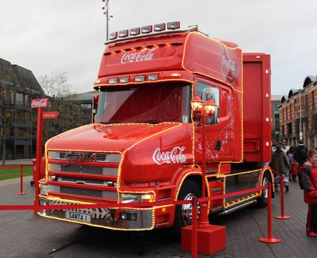 Coca Cola Tour in Middlesbrough