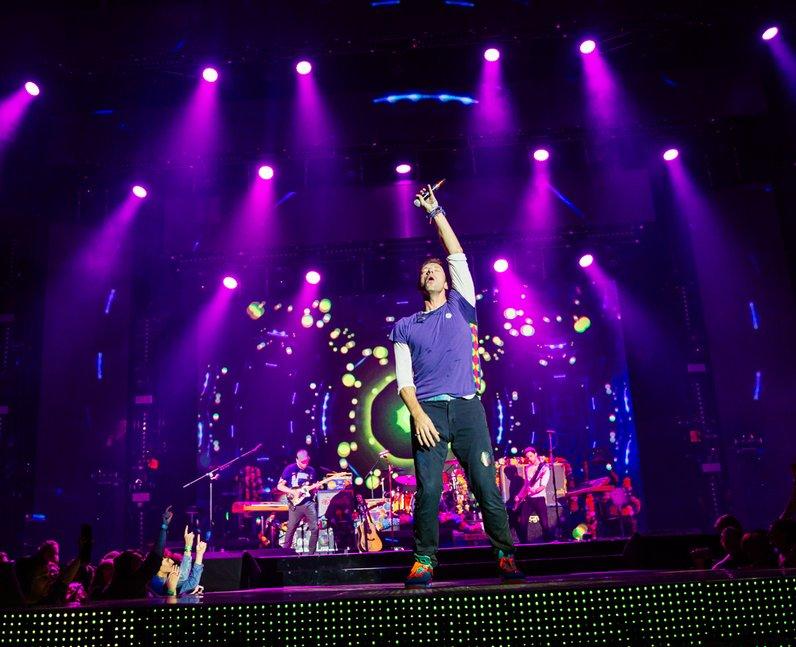 Coldplay Jingle Bell Ball 2015