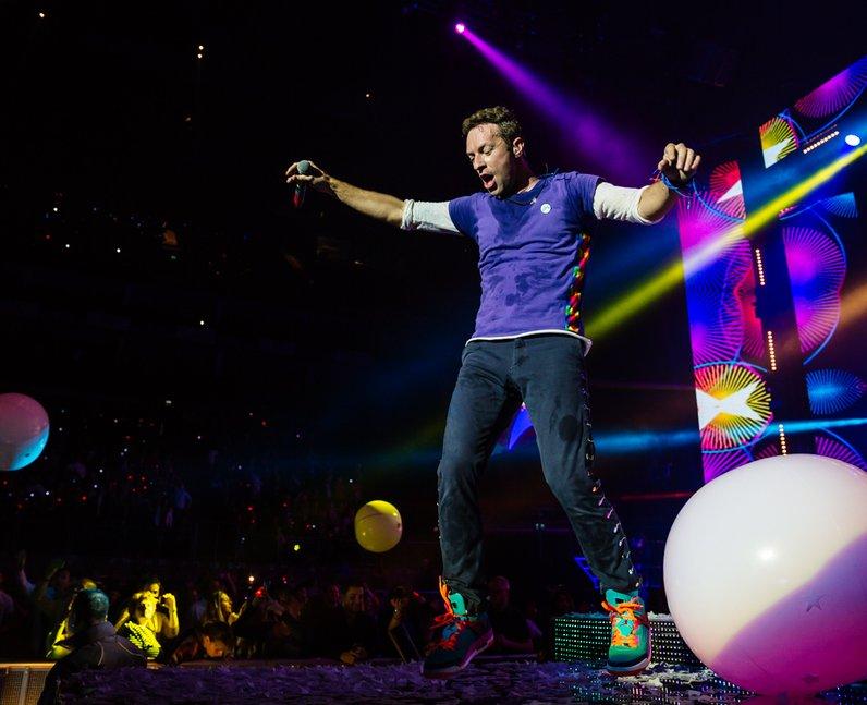 Coldplay Jingle Bell Ball 2015 Live