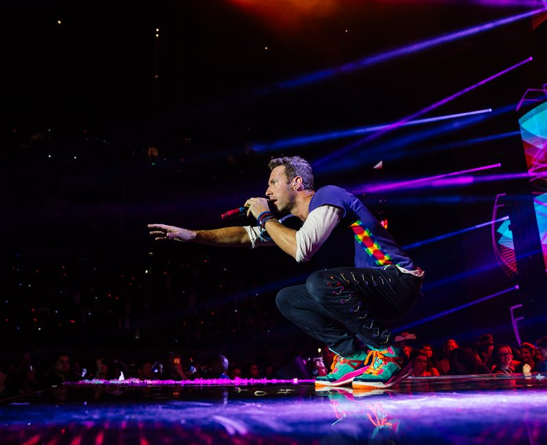 Coldplay Jingle Bell Ball 2015 Live