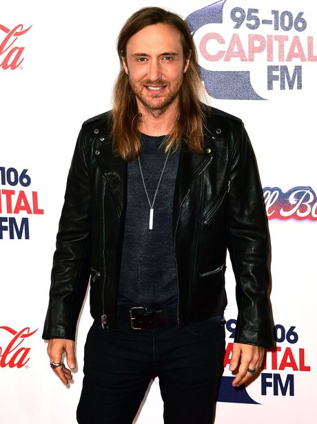 David Guetta Red Carpet Jingle Bell Ball 2015