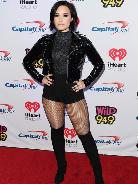 Demi Lovato iHeart Radio Jingle Ball Oakland
