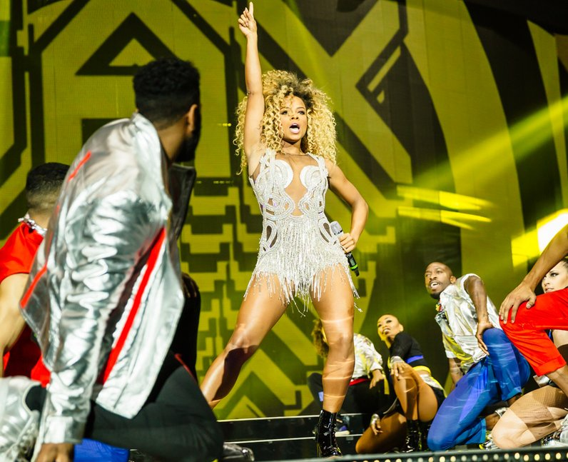 Fleur East Jingle Bell Ball 2015