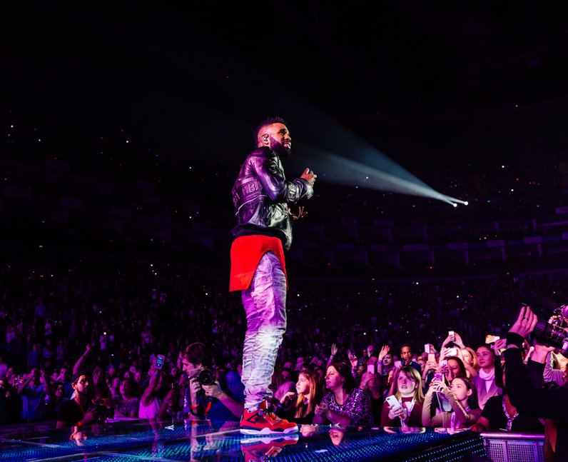 Jason Derulo Jingle Bell Ball 2015