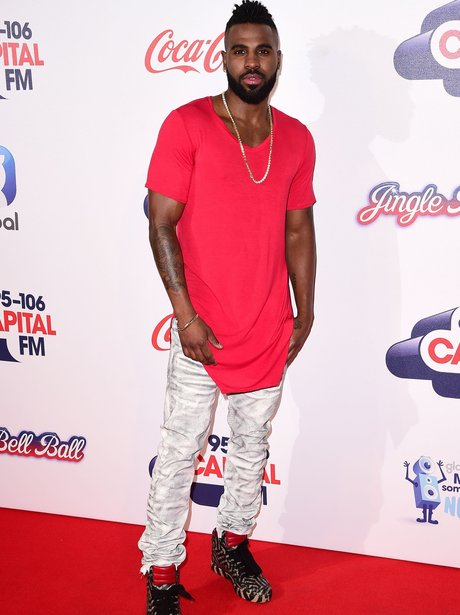 Jason Derulo Red Carpet at the Jingle Bell Ball 20