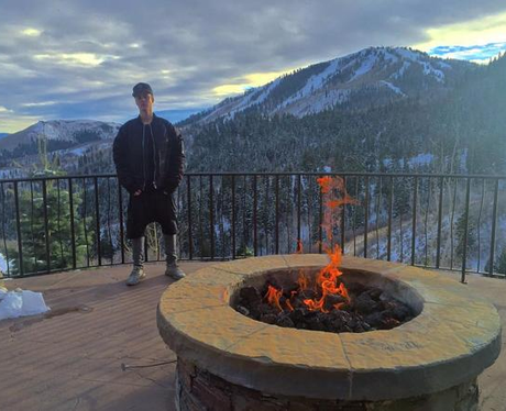 Justin Bieber Holiday Instagram