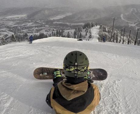 Justin Bieber Snowboarding Instagram